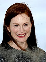 Julianne Moore Loads Up on Fall Fashion