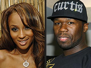 Ciara Says She's 'Great Friends' with 50 Cent