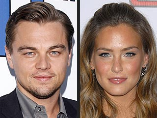 Leonardo DiCaprio and Bar Refaeli Take a Break