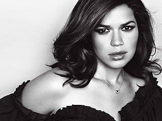 Glam America Ferrera Talks About Tough Childhood | America Ferrera