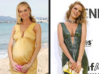 Eva Herzigova Is Confident She'll Shed Baby Weight | Eva Herzigova