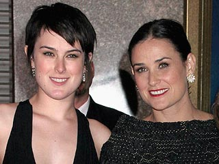 Demi Moore Directs Daughter Rumer