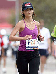 Rep: No Boston Marathon for Katie Holmes