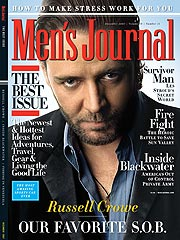 Russell Crowe Says He Has 'Retail-Therapy Issues'| Russell Crowe
