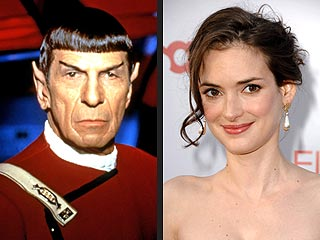 Winona Ryder to Play Spock's Mom in Star Trek Film | Leonard Nimoy, Winona Ryder