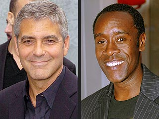 Clooney and Cheadle Honored by Nobel Prize Winners | Don Cheadle, George Clooney