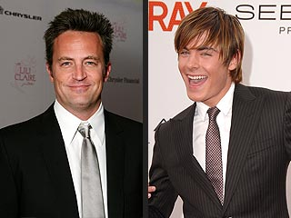 Matthew Perry Morphs into Zac Efron for New Movie | Matthew Perry Cover, Matthew Perry