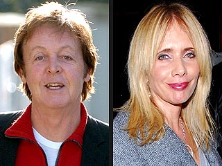 Rosanna Arquette Bonds with Paul McCartney over Music