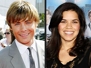 Zac Efron, America Ferrera Win Family TV Awards | America Ferrera, Zac Efron