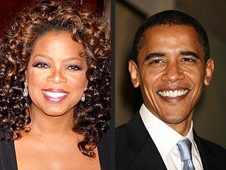 Oprah on Obama: 'I Cried My Eyelashes Off' | Barack Obama, Oprah Winfrey