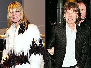 Kate Moss, Mick Jagger Rock at Led Zeppelin Show | Kate Moss, Mick Jagger