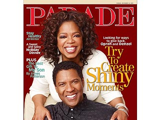 Oprah and Denzel Reveal Who Inspired Them | Denzel Washington, Oprah Winfrey