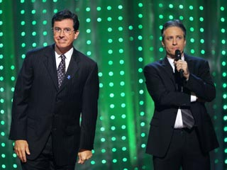 Jon Stewart and Stephen Colbert Head Back to Work | Jon Stewart, Stephen Colbert