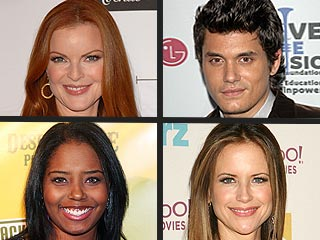How Stars Celebrate the Holidays | John Mayer, Marcia Cross