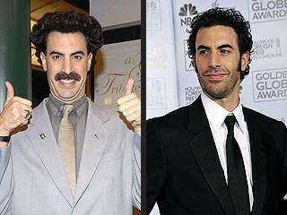 Sacha Baron Cohen Says Good-Bye to Borat