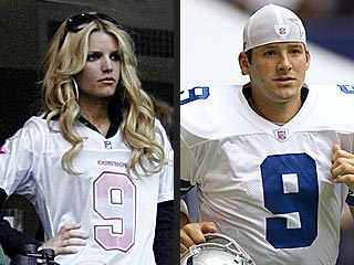 Jessica Simpson Wows Fans Before Dashing to Tony Romo
