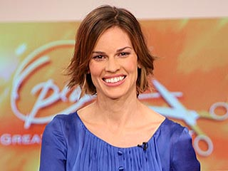 Hilary Swank's New Hairdo Unveiled | Hilary Swank