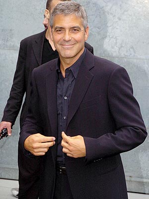 What Italian delicacy has its own dedicated room in George Clooney's Lake Como villa?   George Clooney