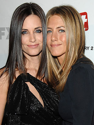 Courteney says close friend Jennifer Aniston is a 