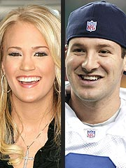 Carrie Not Dating Cowboy Tony Romo | Carrie Underwood
