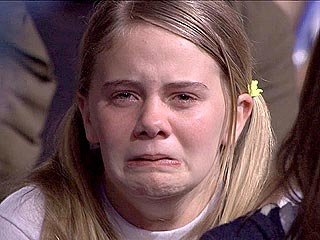 Idol Video: Ashley Cries (and Cries) for Sanjaya
