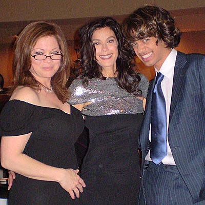 THREE NON-BLONDES photo | Sanjaya Malakar, Teri Hatcher, Valerie Bertinelli