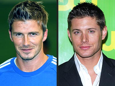 DAVID VS. JENSEN photo | David Beckham, Jensen Ackles