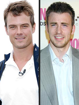 JOSH VS. CHRIS photo | Chris Evans, Josh Duhamel