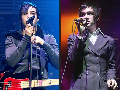 PETE VS. BRENDON photo | Pete Wentz