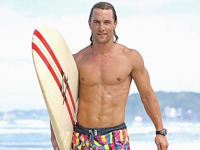 Single & Sizzling Men of '07 | Matthew McConaughey