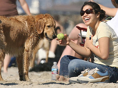 AMERICA & BUDDY photo | America Ferrera