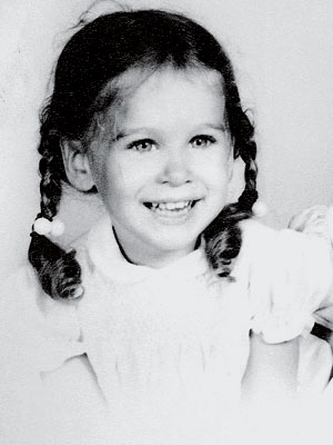 This cute tyke with the peaches-and-cream complexion now makes fashion