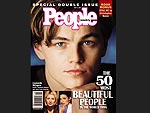 PEOPLE&#39;s Most Beautiful: A Look Back at the Covers | Leonardo DiCaprio