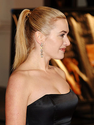 SLEEK PONYTAIL photo | Kate Winslet