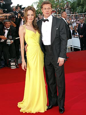 Angelina Jolie and Brad Pitt - Cannes Film Festival