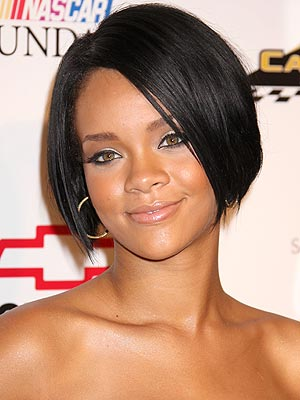 rihanna bob back view. The Cropped Bob