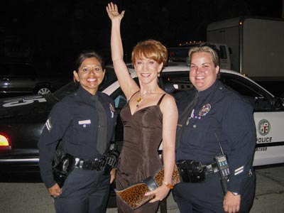 AN ARRESTING MOMENT photo | Kathy Griffin
