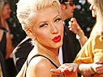 Emmy Night Arrivals | Christina Aguilera