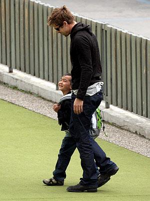 DADDY DAYCARE photo | Brad Pitt