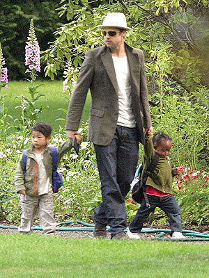 GARDEN VARIETY photo | Brad Pitt