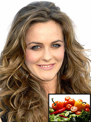 DAY SIX: GO VEGGIE photo | Alicia Silverstone