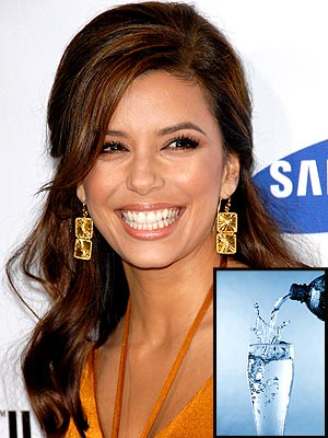 DAY ONE: DRINK MORE WATER photo | Eva Longoria