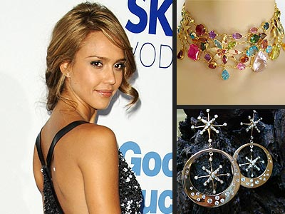 BLING IN THE NEW YEAR photo | Jessica Alba