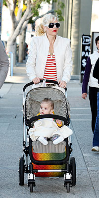 GWEN STEFANI & KINGSTON  photo | Gwen Stefani