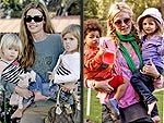 Moms' Best Moves | Denise Richards, Heidi Klum