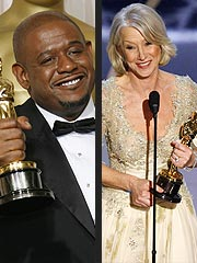 Helen Mirren, Forest Whitaker Rule at the Oscars