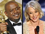 Helen, Forest and Martin Score Oscars