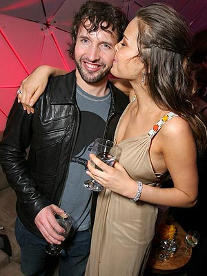 RETIREMENT PARTY  photo | James Blunt, Petra Nemcova