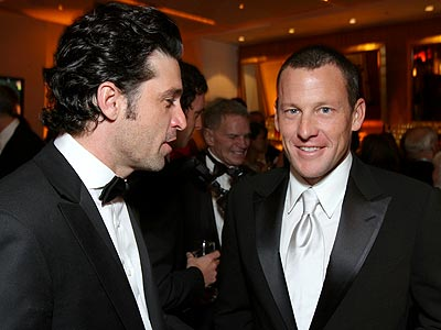 NEW AMIGOS photo | Lance Armstrong, Patrick Dempsey