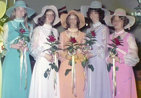 ugly bridemaids dresses